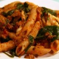 Recipe: Baked Ziti with Spinach and Tomatoes