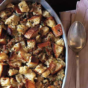 Recipe: Sausage Bread Stuffing