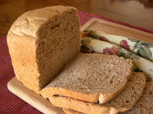 Recipe: Breadmaker Never Fail Wheat Bread