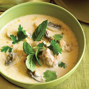 Recipe: Coconut Chicken Soup (Tom Ka Gai)