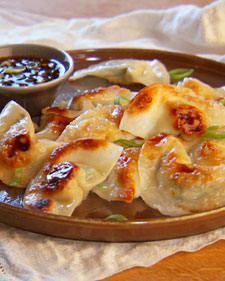 Recipe: Pot Sticker Dumplings and Soy Vinegar Sauce