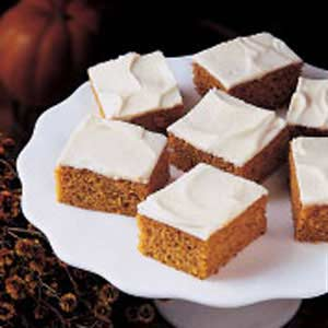 Recipe: Pumpkin Bars